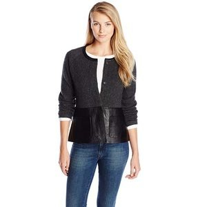 Pendleton Women's Wool/Leather Mixed Media Jacket